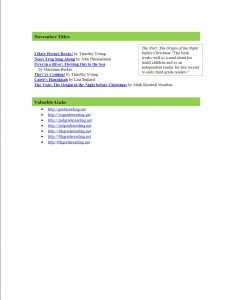 Nov 2013 2nd Grade Newsletter pg2